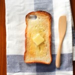 Clever Buttered Toast iPhone Case That Saves Screens When Landing Butter Side Down Due To Murphy's Law