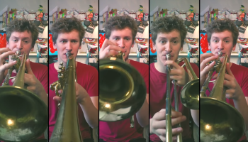 British Musician Performs a Brilliant Brass Cover of the
