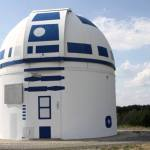 German Observatory Transformed Into a Giant R2-D2
