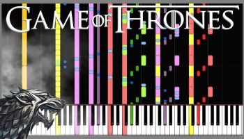 An Electronic Remix of the 'Game of Thrones' Theme Song by