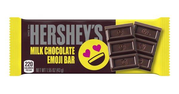 Hersheys Emoji Bar