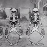 An Amazing High Definition AI Remaster of the Iconic 1929 'Silly Symphony' Animation 'The Skeleton Dance'