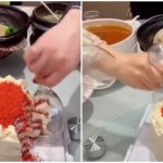 A Clever Hack of Using Wine Glasses to Cut Cake