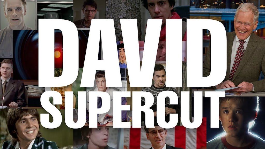 A Vanity Supercut of the Name 'David' in Film and TV