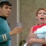 Leonard Nimoy as Spock Makes Surprise Cameo Appearance on 'The Carol Burnett Show' in 1967