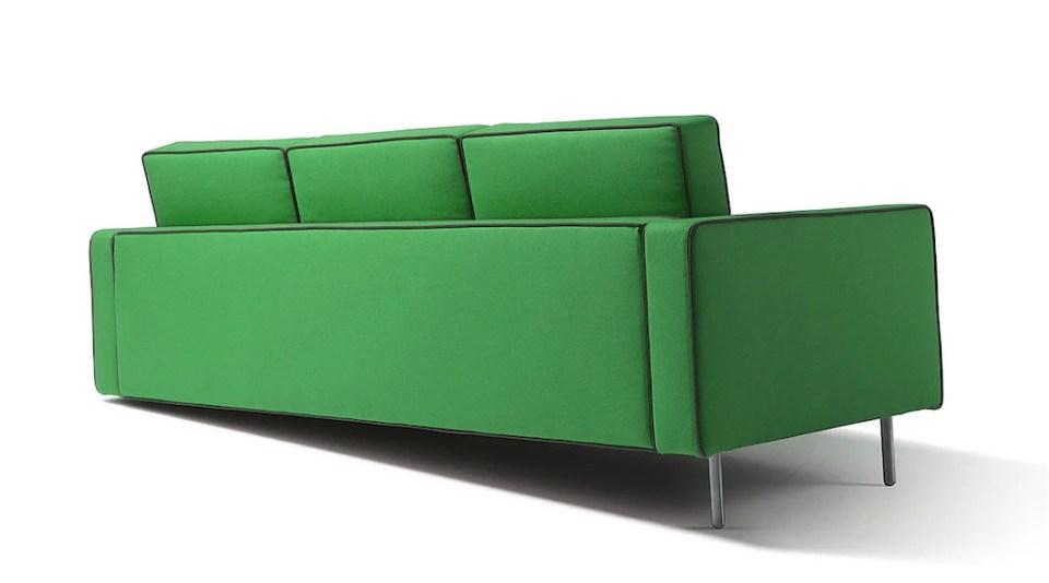 Adaptation Illusion Sofa Green Back
