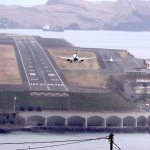 Landing on One of the World's Most Challenging Airport Runways in Funchal, Madeira