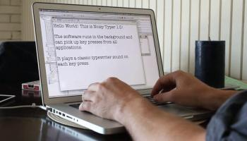 Hacker Typer Web App Lets Anyone Be a Super Extreme Net Ninja