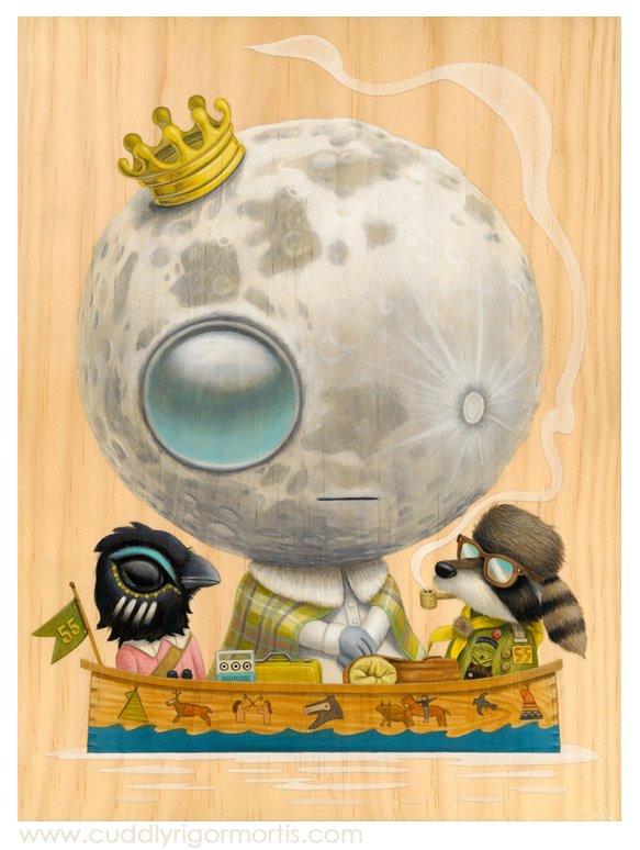 Luna Ascensio Rex by Kristin Tercek