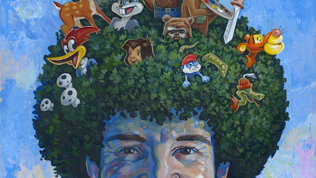 Five thirty eight breaks down the statistics of bob ross paintings happy little trees a tribute art show to instructional painter bob ross voltagebd Choice Image