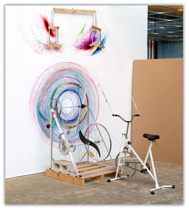 Bicycle Drawing Machine