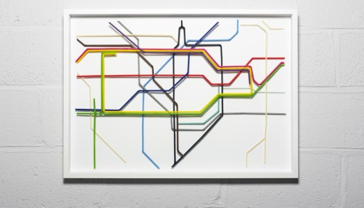 Animal Outlines Found on Maps of London Underground Tube Lines – London Tube Map Lines