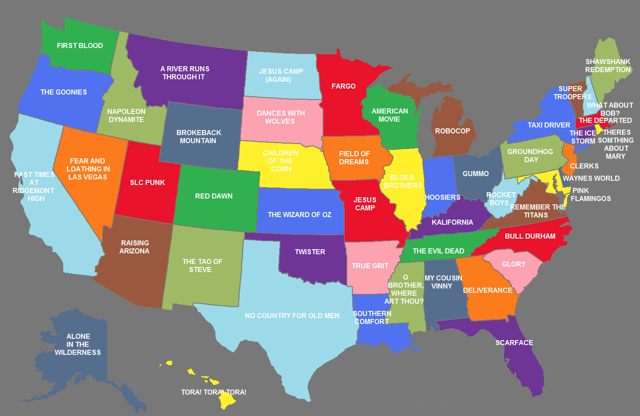 US Movie Map