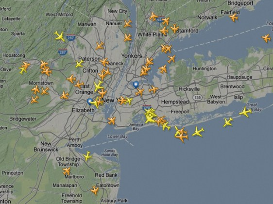 Flightradar24  A Service That Tracks Air Traffic on a Live Map