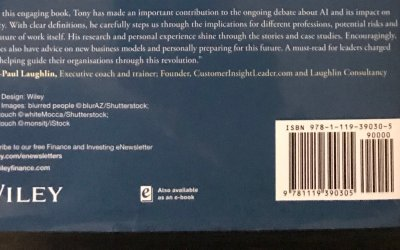 Book Cover recommendation from Laughlin Consultancy