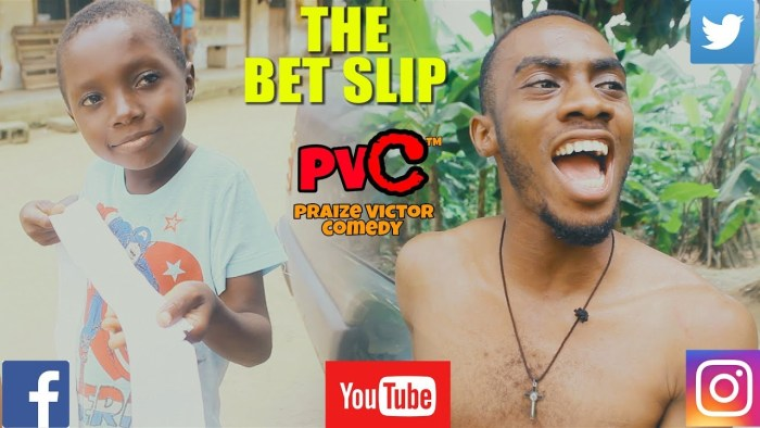 Praize Victor Comedy – The Bet Slip