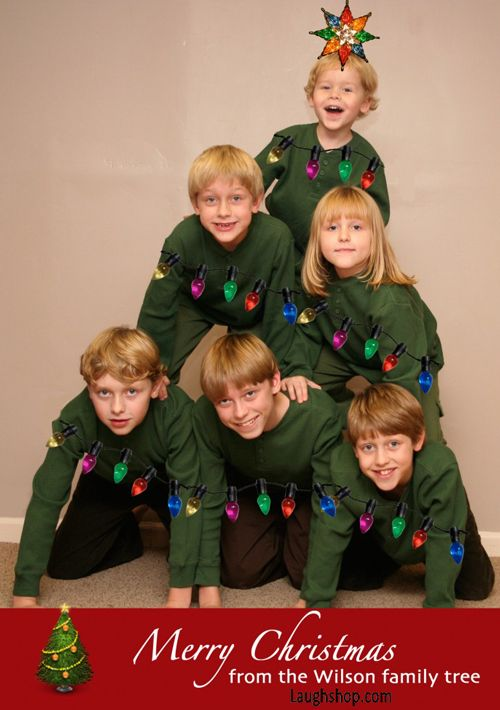 Awkward Christmas Family Tree