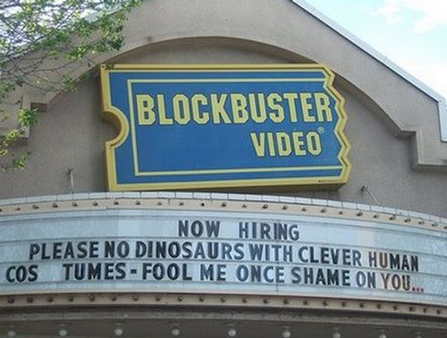 Funny Now Hiring Sign