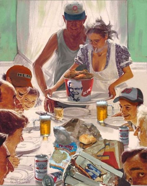 Redneck Thanksgiving Image
