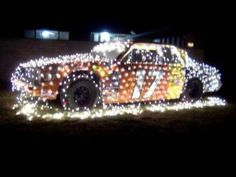 True Redneck Christmas Display