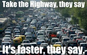 Driving In Southern California