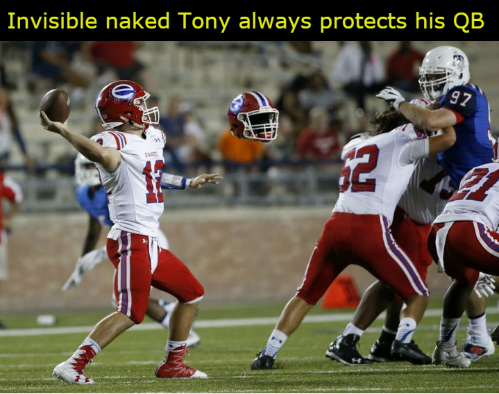 Invisible Naked Tony