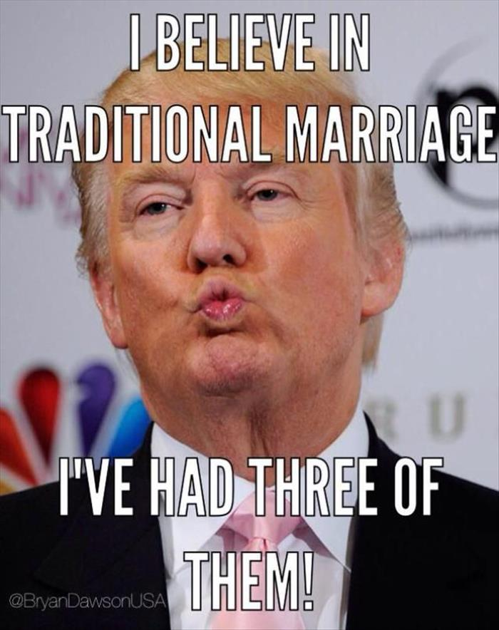 Trump and Marriage