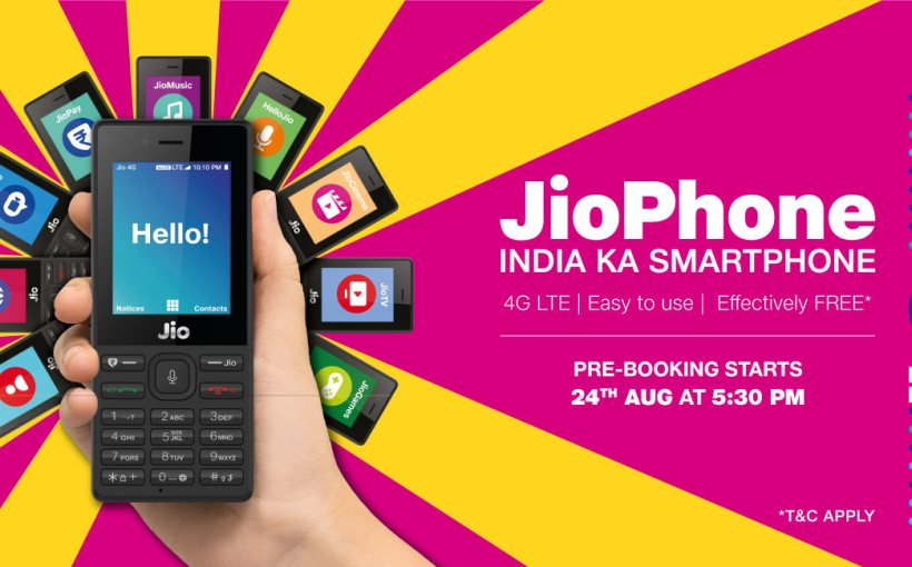 Book jio phone