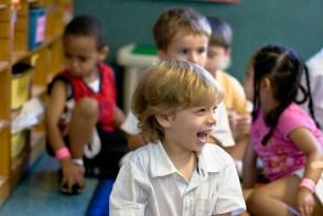 School laughter