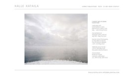 Homepage of photographer K.Kataila