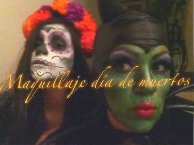 Maquillaje para Día de muertos