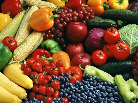 Verano de frutas,verduras y mi ensalada favorita.