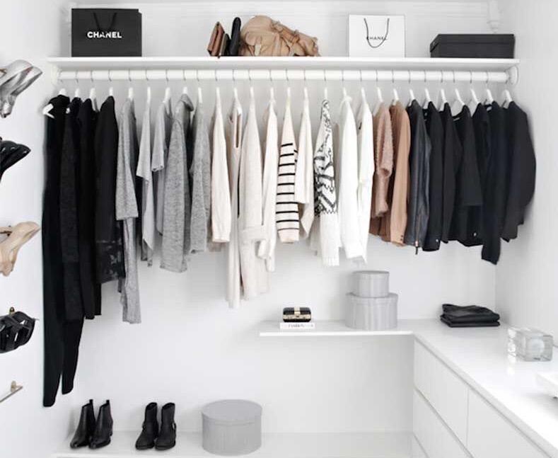 Limpieza de primavera a tu closet