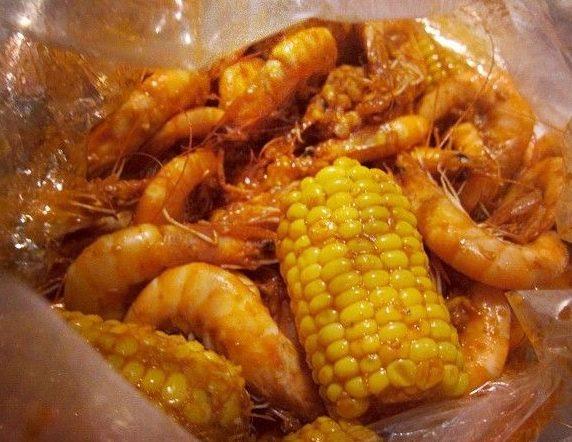 "Camarones ""whole Shabang""from Boiling Crab"