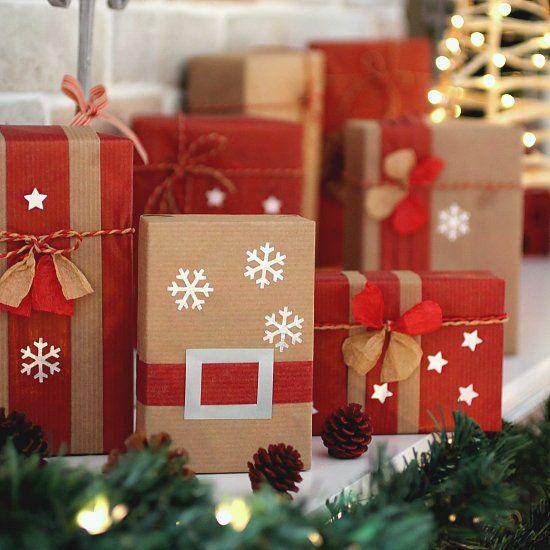 Envolturas originales para Navidad
