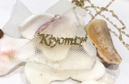K-C ネームネックレス