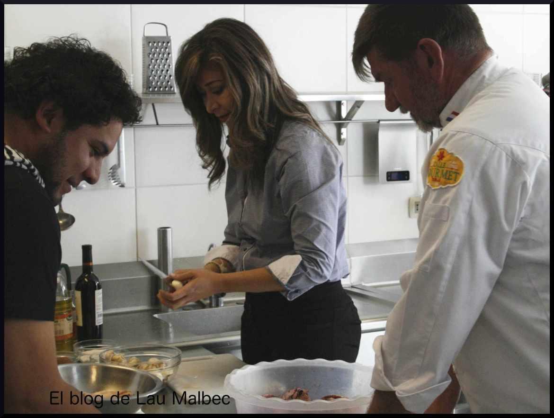 Cocinando con Pierre Van Oost