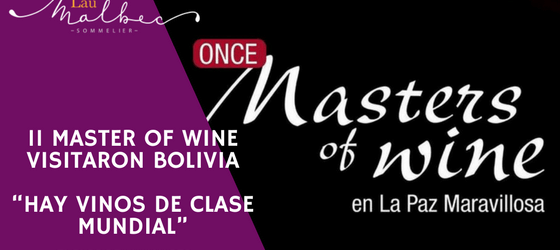 Masters of Wine en Bolivia