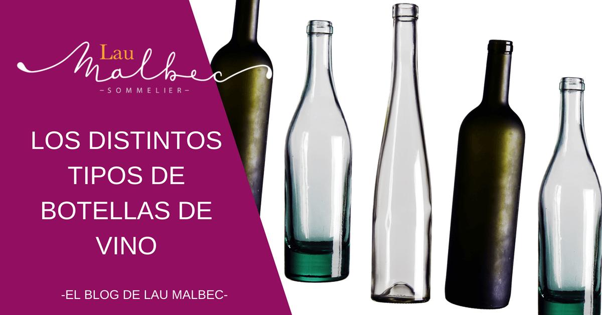 Los distintos tipos de botellas de vino