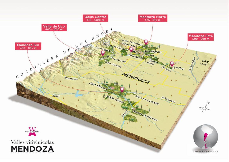Regiones del vino Mendoza Argentina