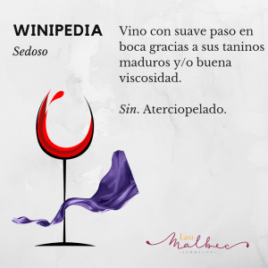 Qué es un vino sedoso winipedia