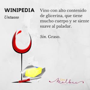 Qué es un vino untuoso, winipedia