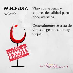 vino delicado