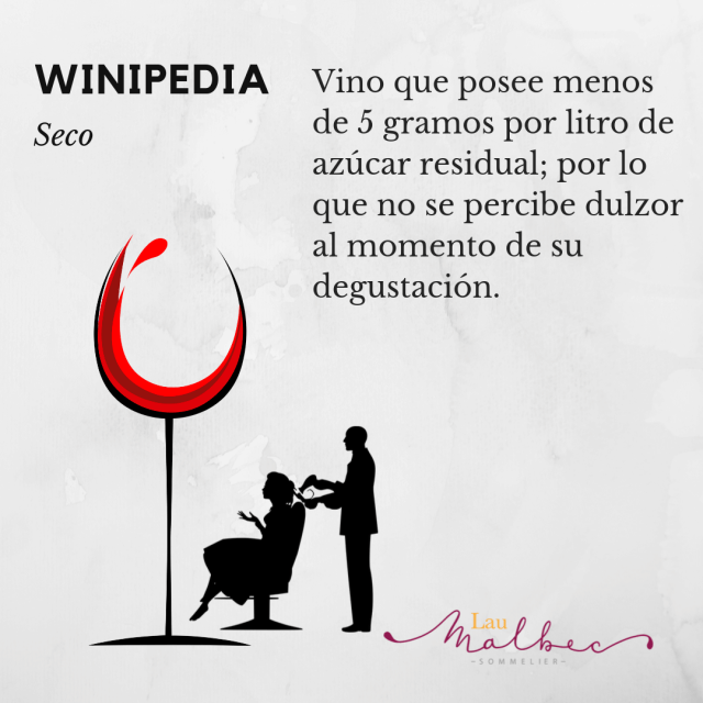 Vino seco #seco