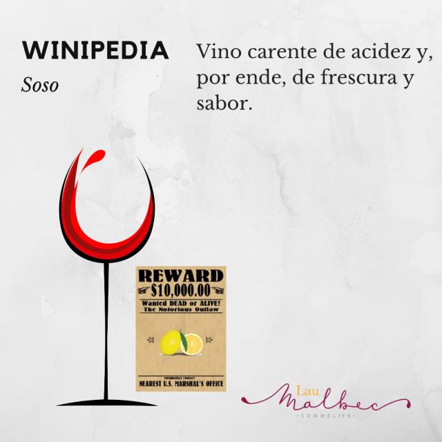 qué es un vino soso? #winipedia