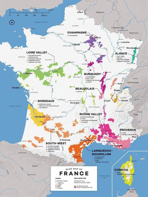 Vino de Francia