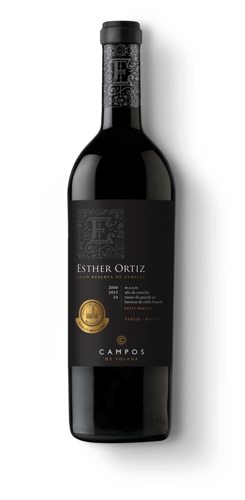 Nota de cata vinos Esther Ortiz