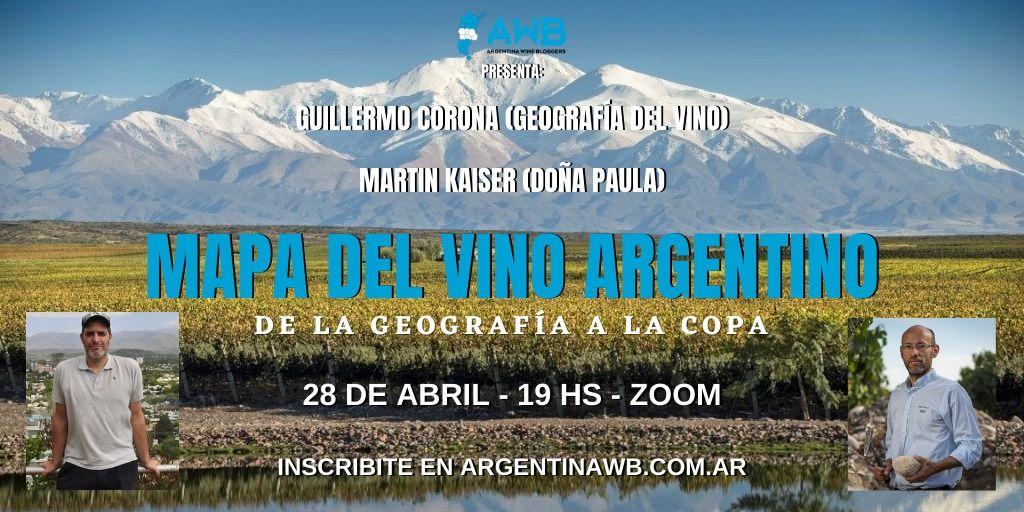 la geografía del vino argentino