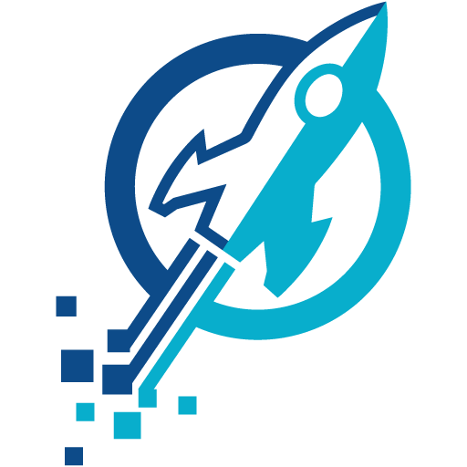 Launch Digital Rocket Logo
