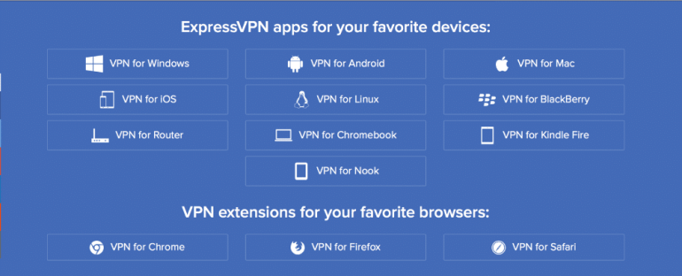 Express VPN review apps